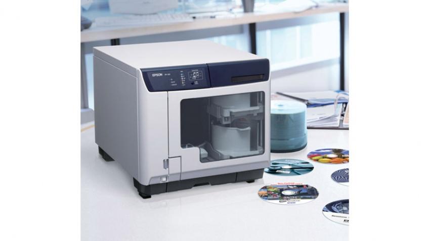 Discproducer от Epson записывает и печатает на дисках