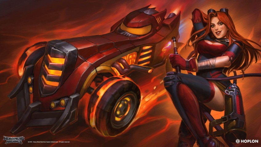 В Heavy Metal Machines финиширует Метал Лига5