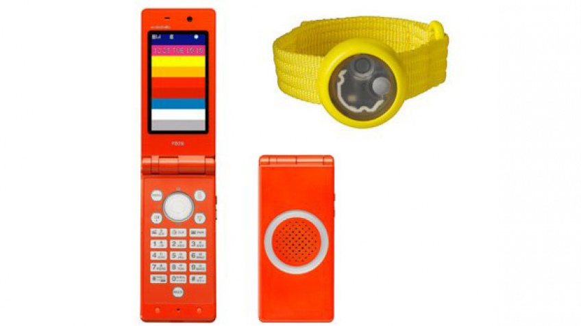 NTT DoCoMo готовит детский телефон F801i