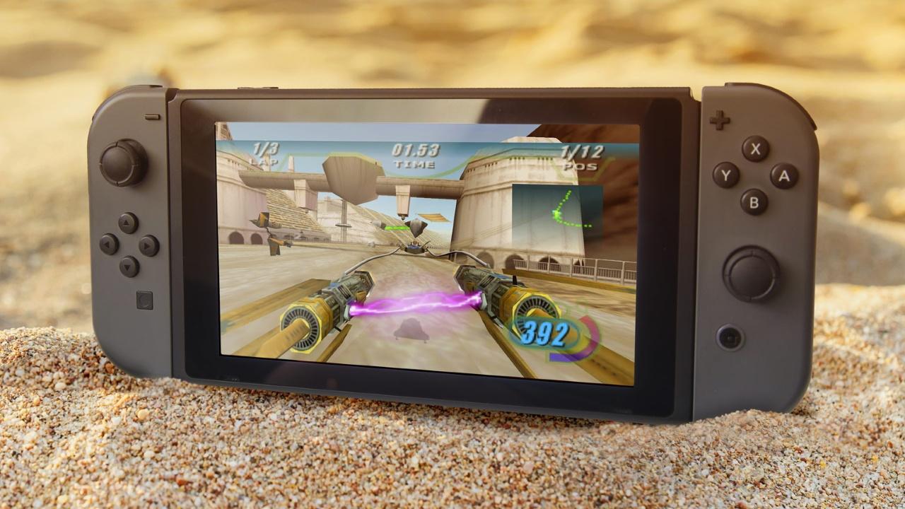 Релиз Star Wars Episode I: Racer на PS4 и Switch состоится уже12 мая