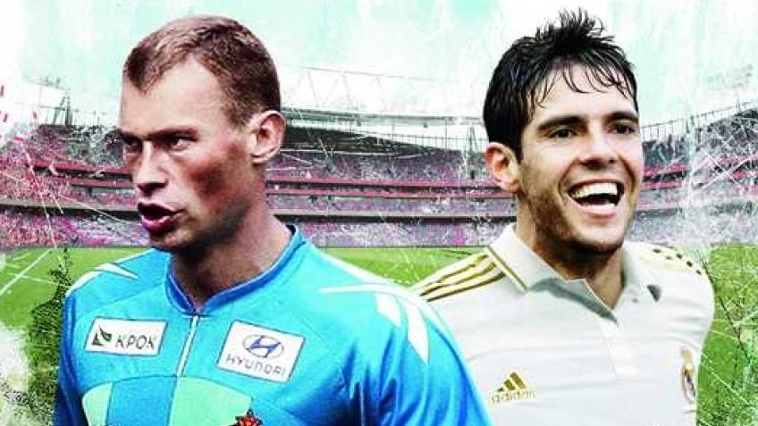 Василий Березуцкий на обложке FIFA12
