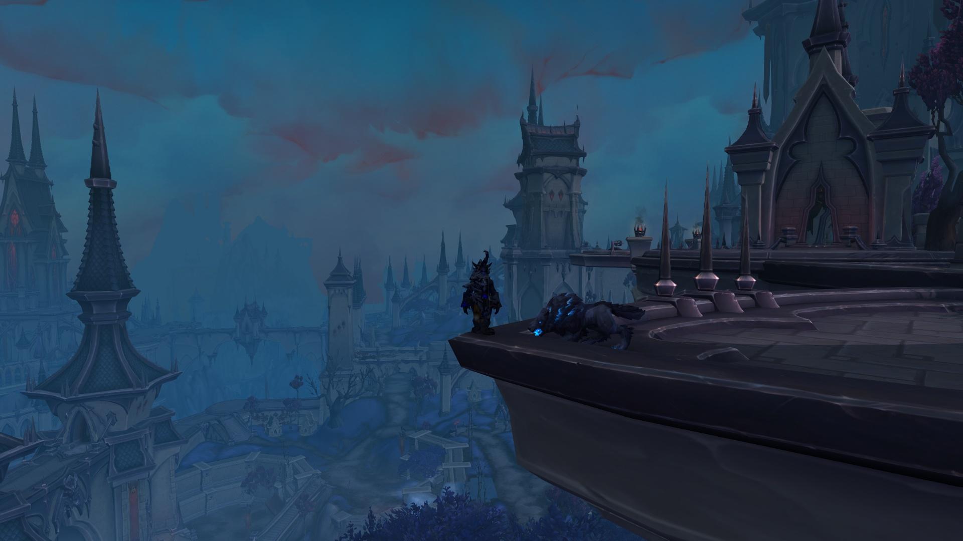 Для World of Warcraft: Shadowlands планируют два крупных обновления