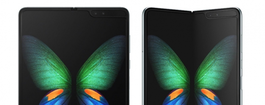 Утечка: у Galaxy Fold обнаружилась складка на экране
