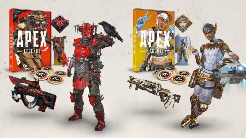 Представлено два физических издания Apex Legends — «Лайфлайн» и «Бладхаунд»