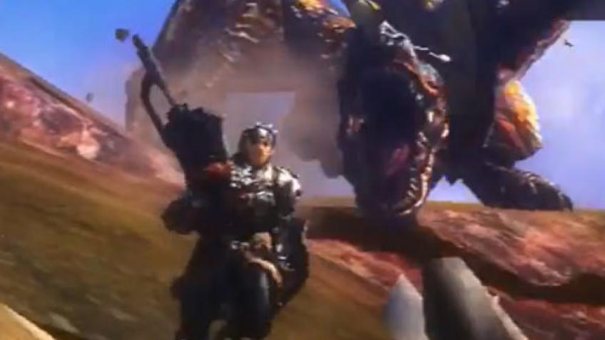 Анонс Monster Hunter4