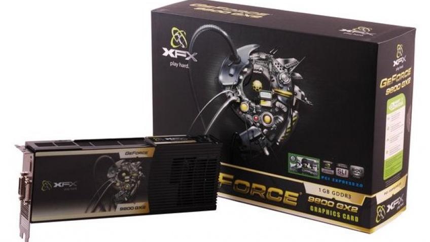 GeForce 9800 GX2 – официально