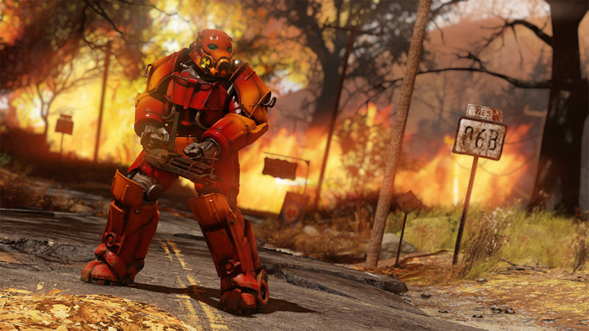 Королевскую битву Nuclear Winter уберут из Fallout76 в сентябре