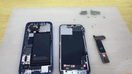 iPhone13 впервые показали в разобранном виде
