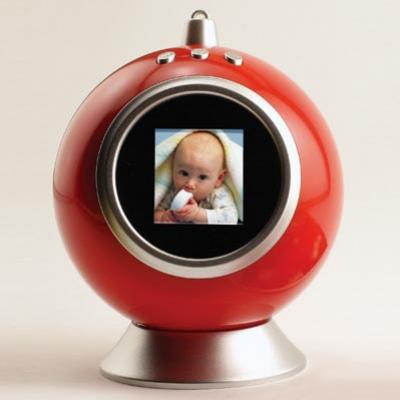 Новогодний шар цифровая фоторамка
