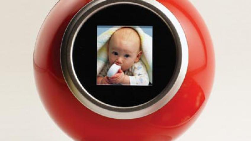 Фотоальбом в виде елочной игрушки