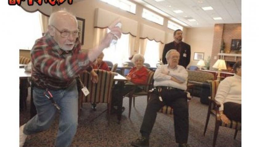 Wii среди престарелых