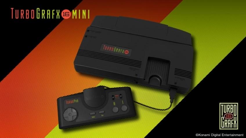Анонсирована новая ретроконсоль TurboGrafx-16 mini