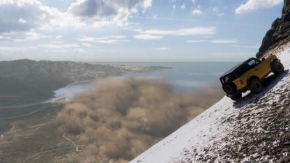 Forza Horizon 5: видео проезда через всю карту и все стартовые автомобили