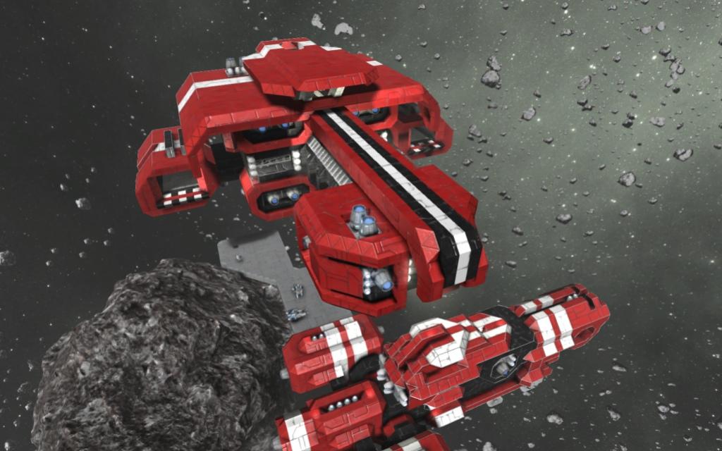 Корабли из Space Engineers можно поставить на полку