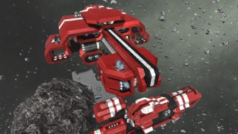 Корабли из Space Engineers можно поставить на полку