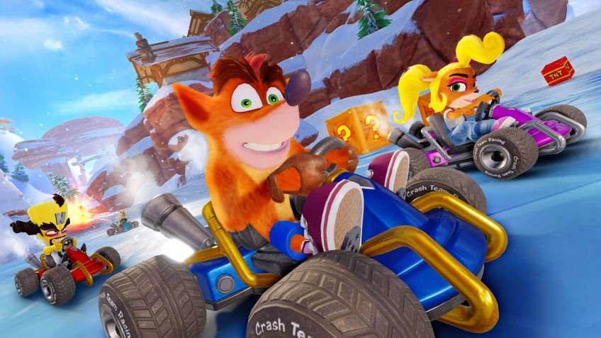 Crash Team Racing Nitro-Fueled возглавила европейские чарты