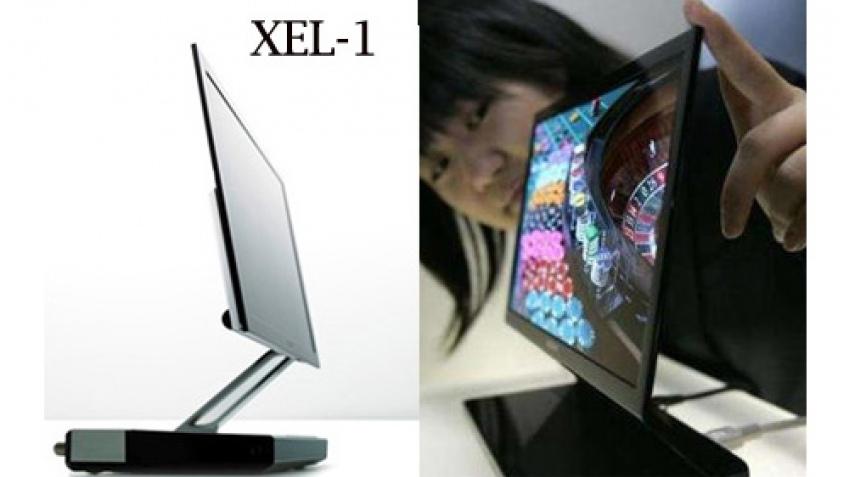 Sony везет XEL-1 в Европу