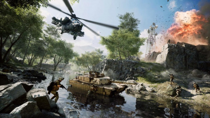 Стартовала открытая бета Battlefield 2042