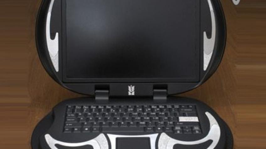 Алмазный ноутбук