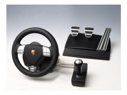 Руль для поклонников Porsche