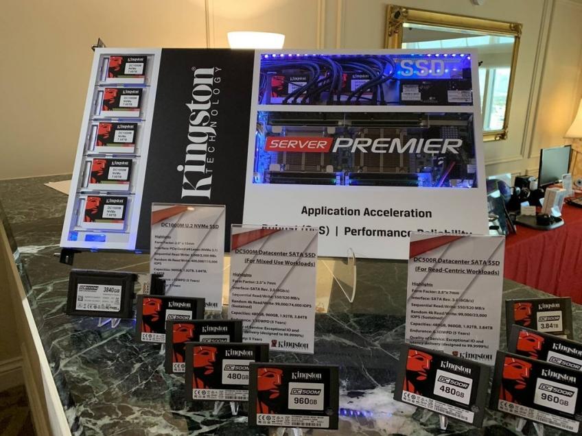 CES 2019: Kingston представила новейшие SSD