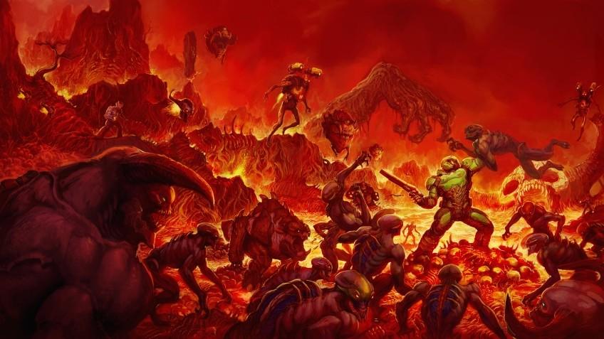 В честь 25-летия Doom Bethesda выпустит контроллер и чехол для Nintendo Switch