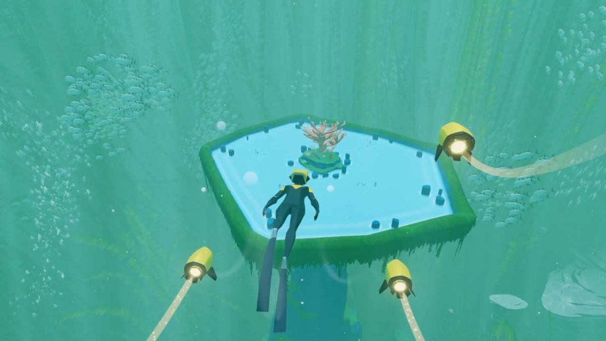 В новом ролике Abzû показали чарующий подводный мир