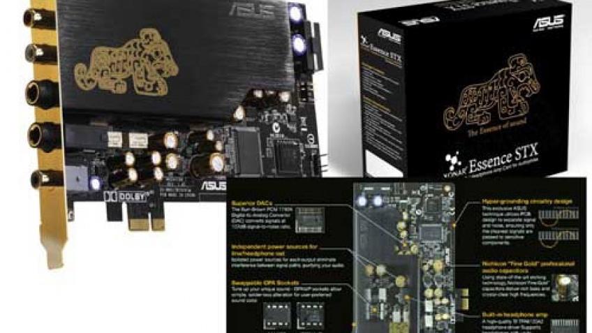 ASUS Xonar Essence STX – звуковая карта для аудиофилов