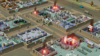 Two Point Hospital наводнили хэдкрабы