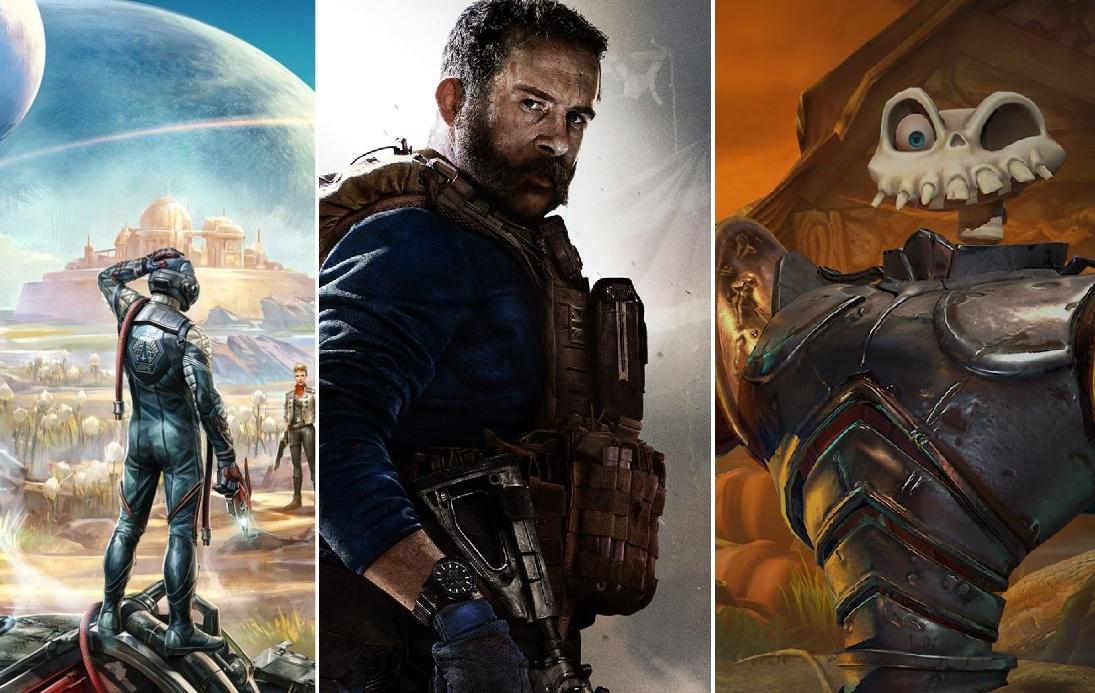 Состоялся релиз The Outer Worlds, Call of Duty: Modern Warfare и ремейка MediEvil