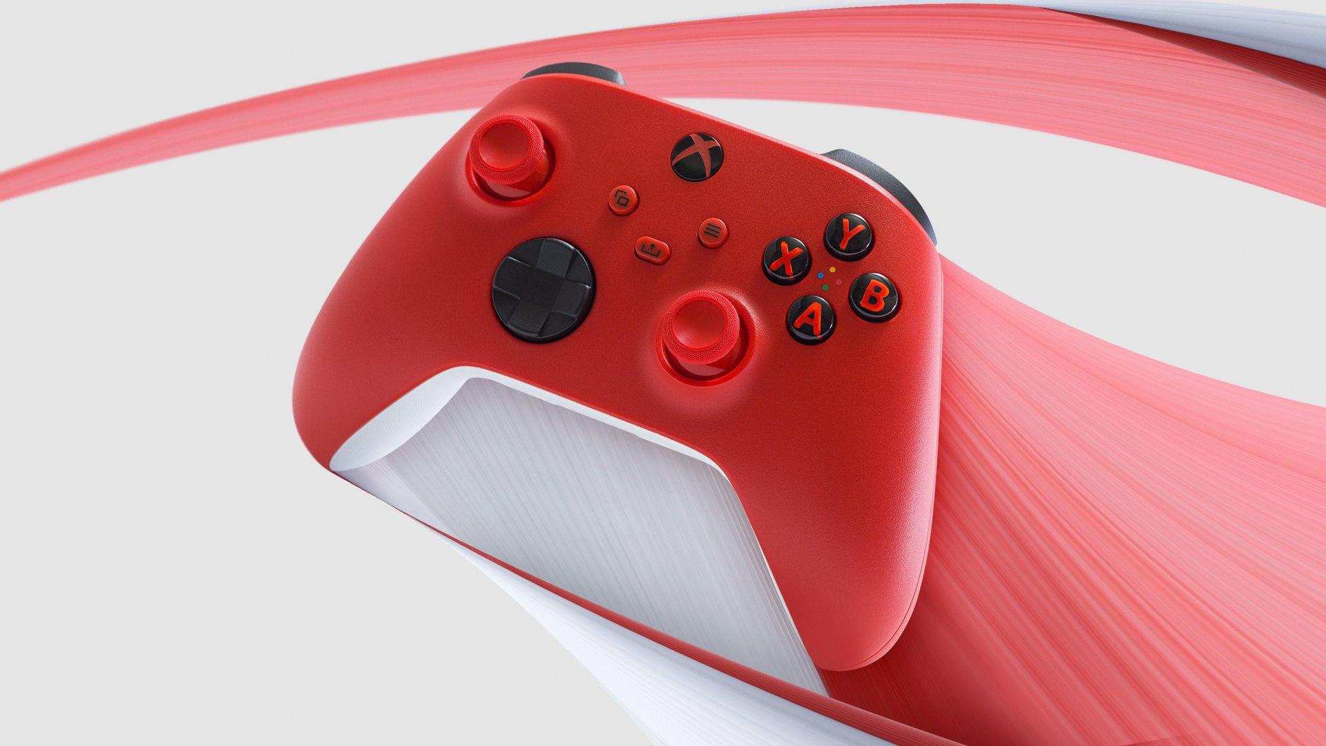 Геймпад Xbox Series получил новую расцветку — Pulse Red