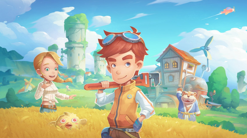 My Time at Portia стала на24 часа новой бесплатной игрой в Epic Games Store