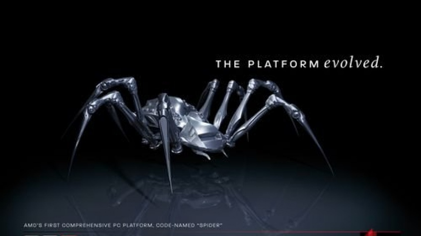 AMD анонсировала платформу Spider