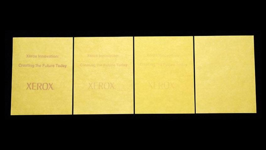 Многоразовая бумага от Xerox