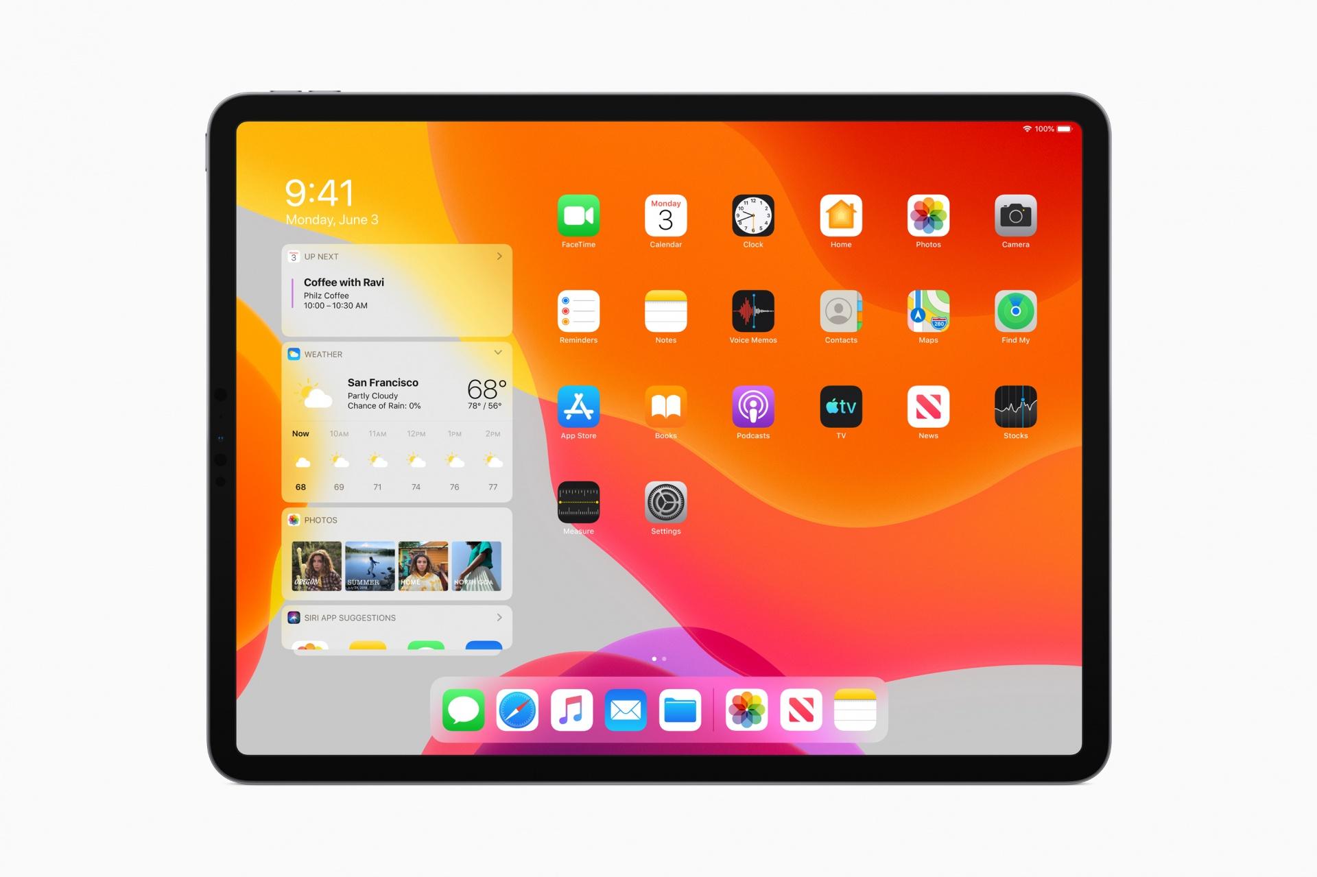 iPadOS — новая операционная система Apple специально для планшетов