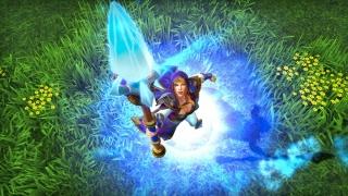 Главное меню Warcraft III: Reforged — это веб-приложение на Chrome