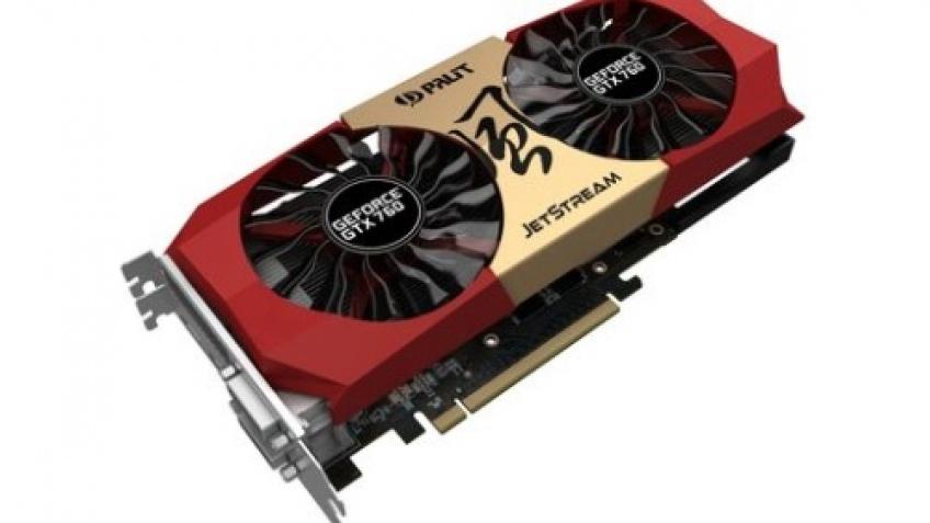 Palit выпустила две версии GeForce GTX 760