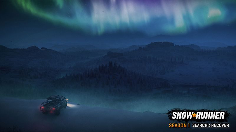 Первый сезон SnowRunner назвали Search & Recover