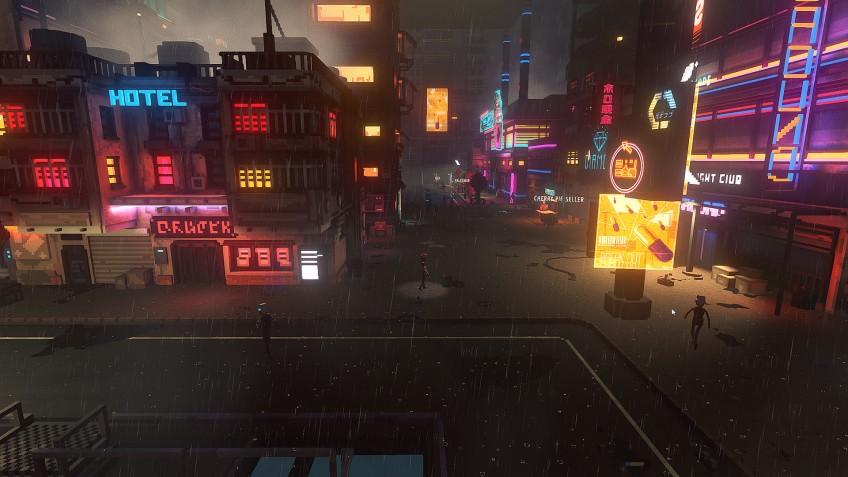 Cloudpunk вышла в Steam и получает отличные отзывы