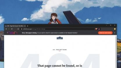 Браузер Brave вместо 404-й ошибки выводит страницу из интернет-архива