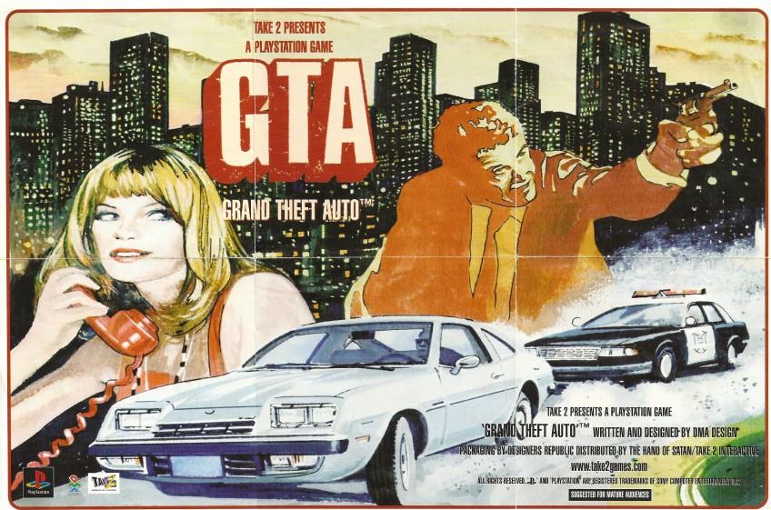 BBC показала, как делали первую GTA