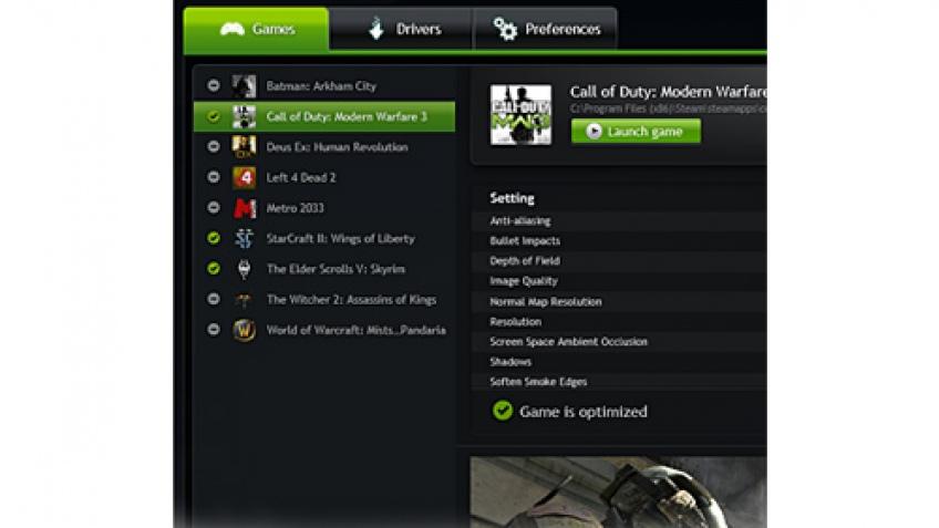 NVIDIA начала открытое бета-тестирование GeForce Experience