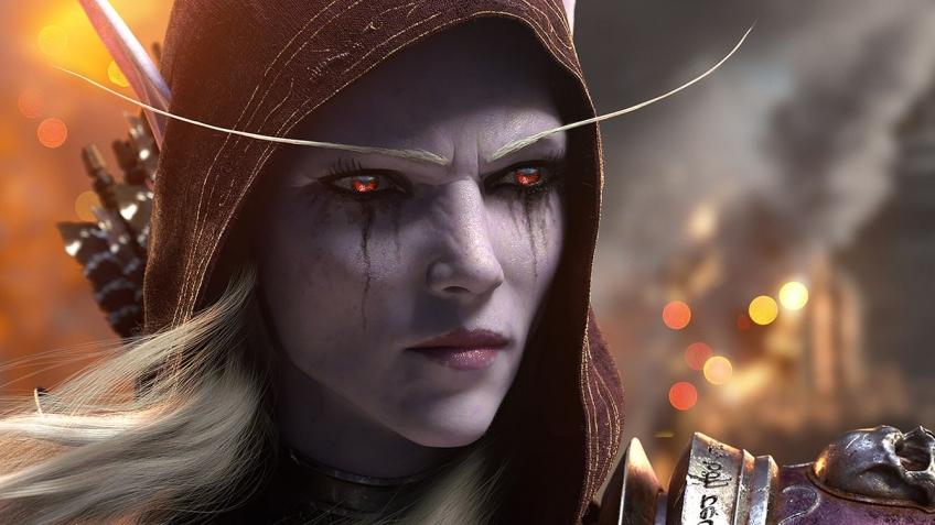 Самый сексуальный персонаж из мира warcraft