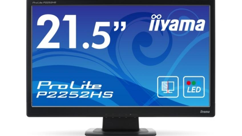 iiyama оснастила монитор ProLite P2252HS закаленным стеклом