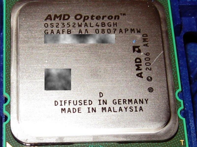 AMD начала поставки Opteron на основе степпинга В3