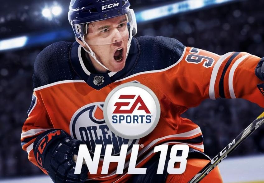 Канадский хоккеист Коннор Макдэвид появится на обложке NHL18