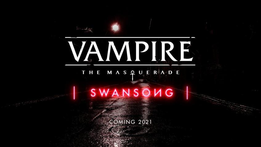 Анонсирована Swansong — игра по Vampire: The Masquerade от авторов The Council