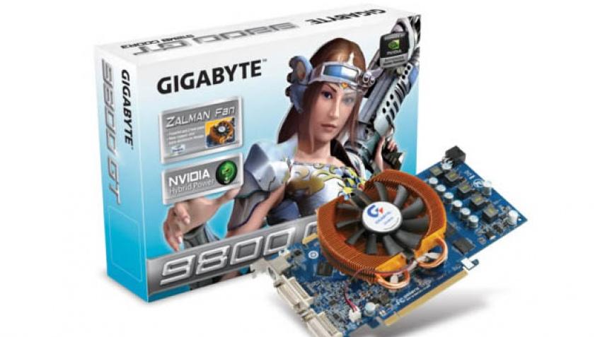 Модификация GeForce 9800 GT от GIGABYTE
