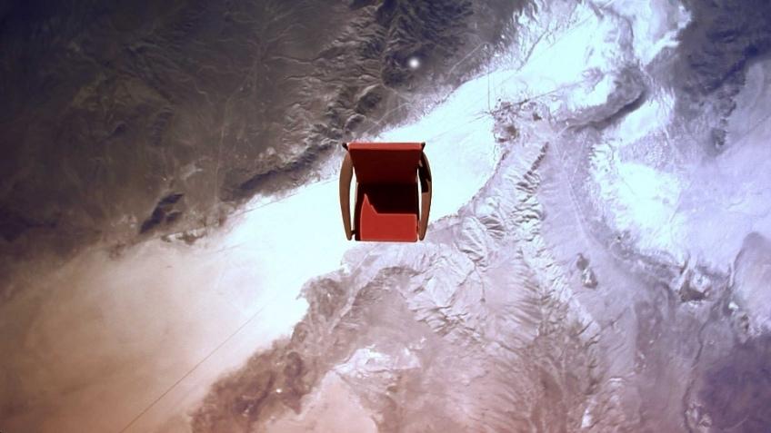 Toshiba отправила кресло в космос