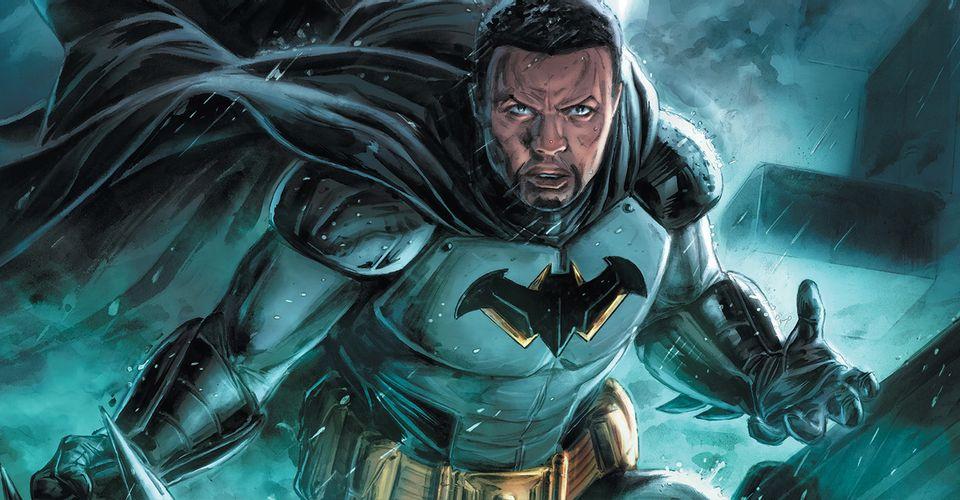 Новым Бэтменом из будущего стал сын Люциуса Фокса